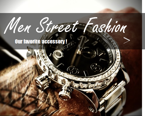 men street fashion watches -home page