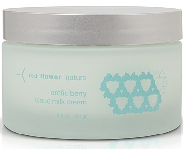 red flower cloud milk