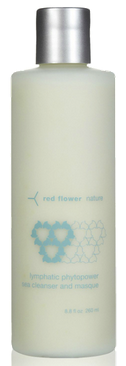 red flower mask